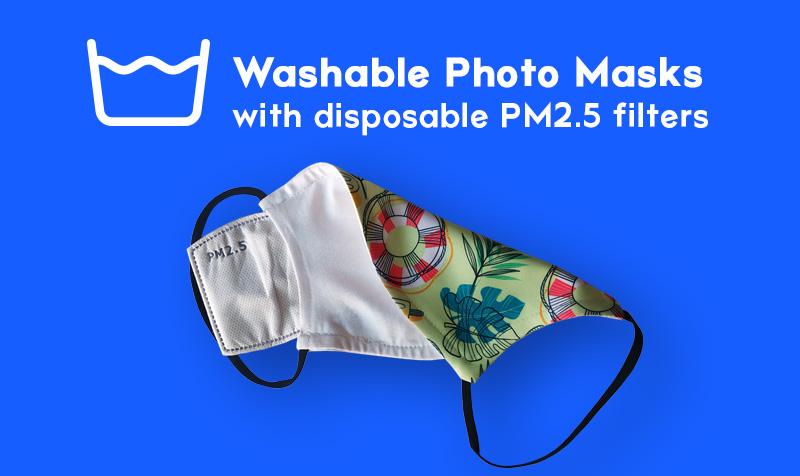 washable photo mask